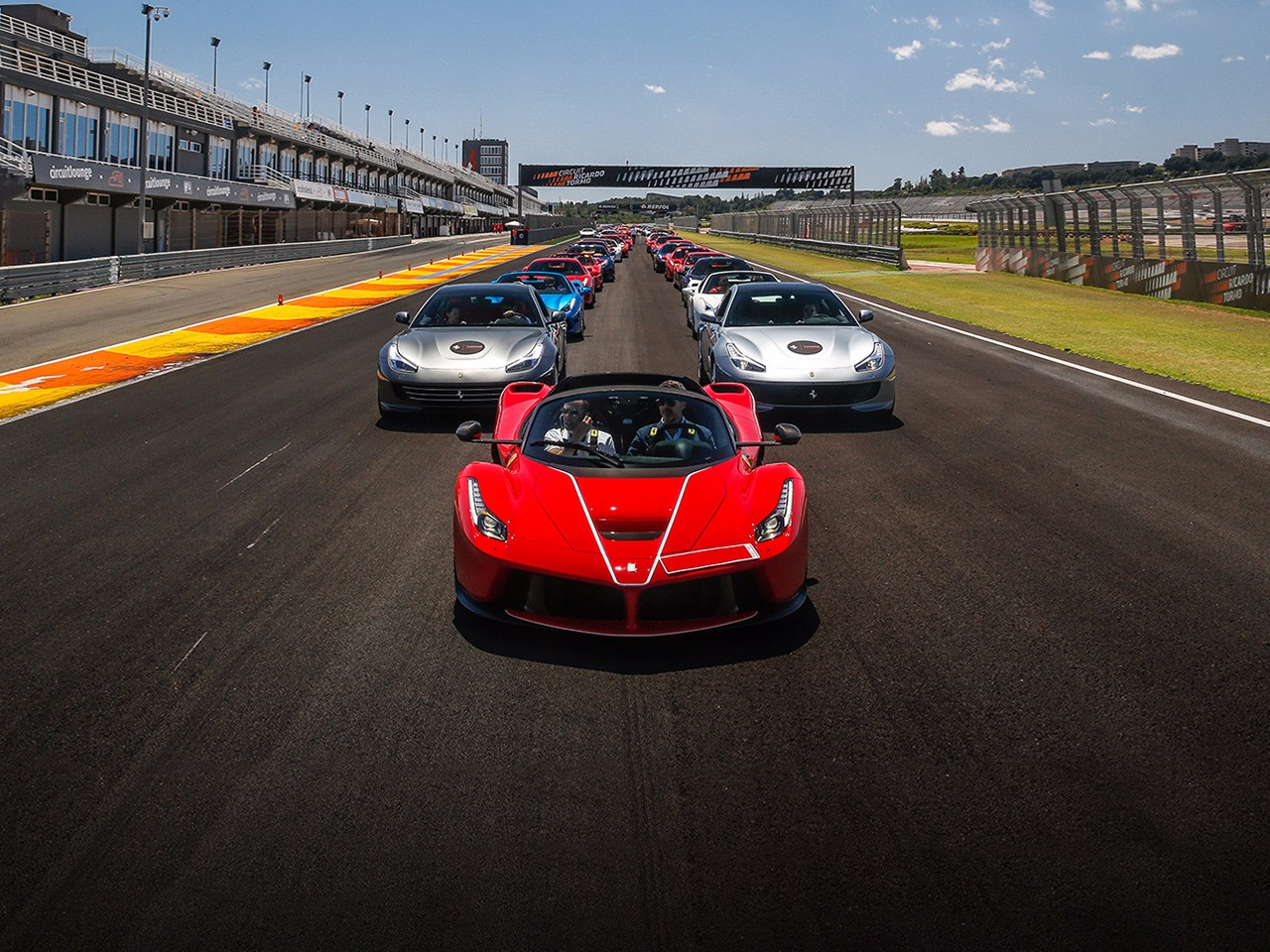Ferrari Challenge and Ferrari Passion