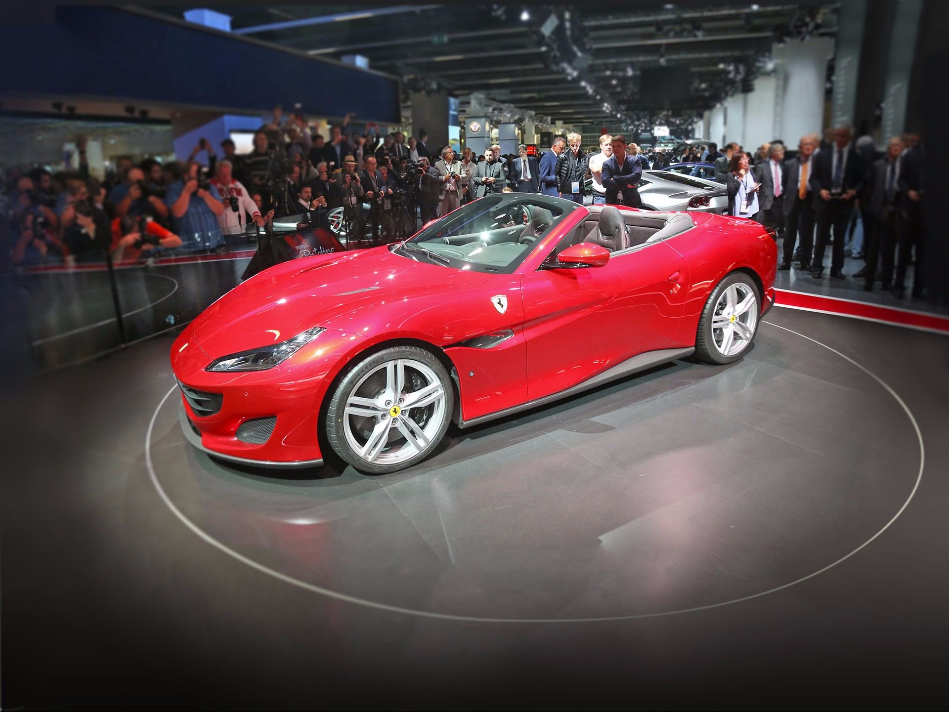 The Ferrari Portofino premieres at Frankfurt