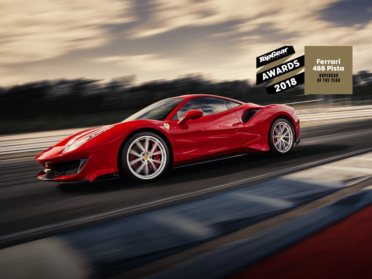 The Ferrari 488 Pista Is Bbc Topgear Magazine S Supercar Of Year