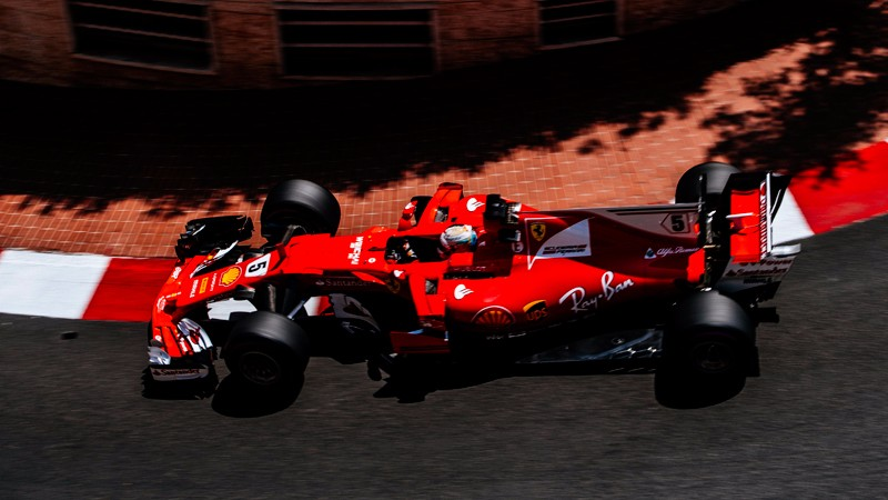 Monaco Grand Prix - 1st and 2nd for the Reds