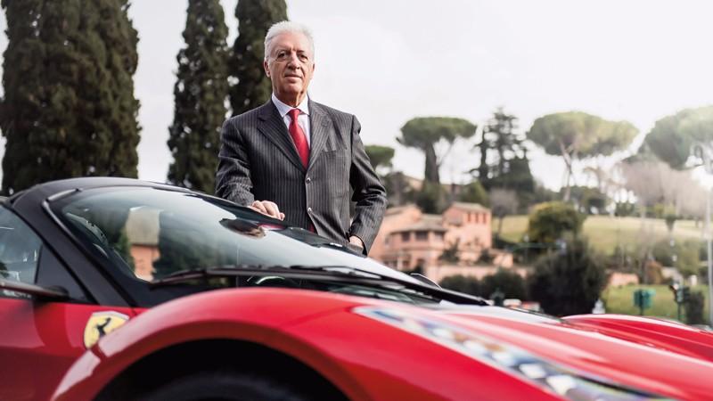 Piero Ferrari returs to the scene of the first Ferrari triumph