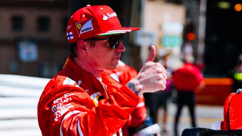 Monaco Grand Prix - An all-Ferrari front row