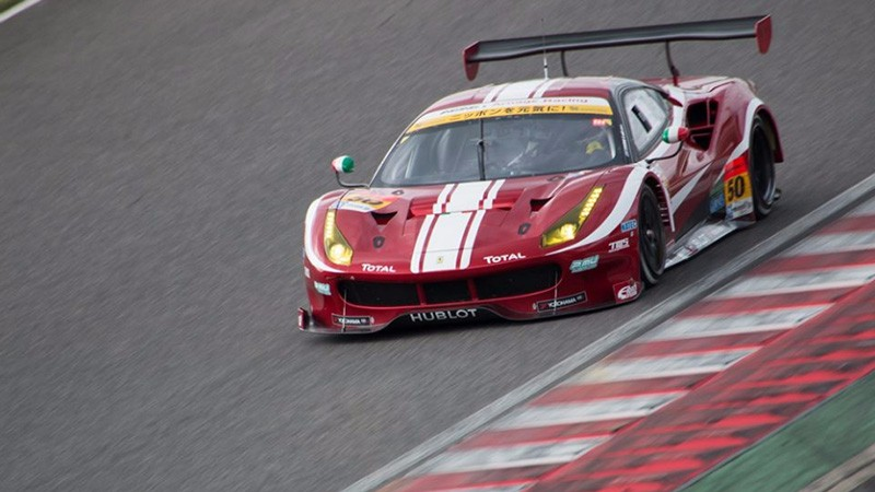Super GT – Ferrari of Nitta and Tsuzuki on podium at Sugo
