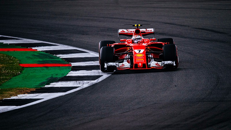 British Grand Prix - Ferrari third and seventh