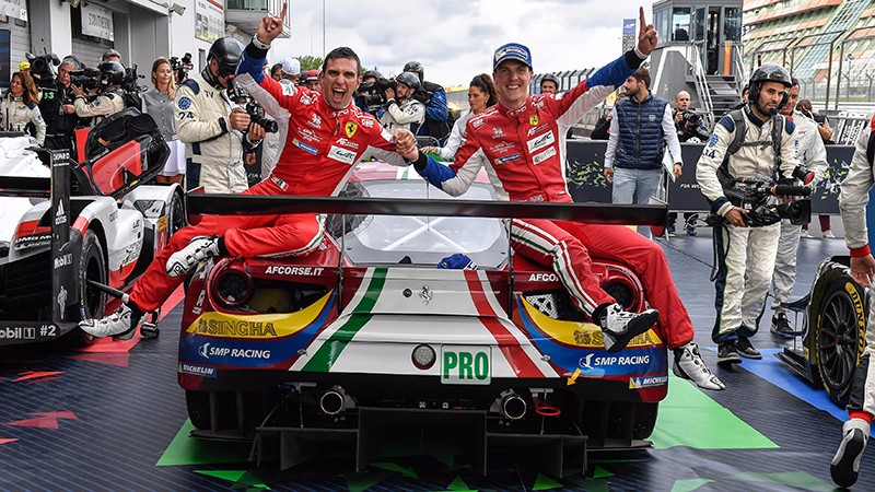 WEC – Ferrari 488 GTE wins at Nürburgring