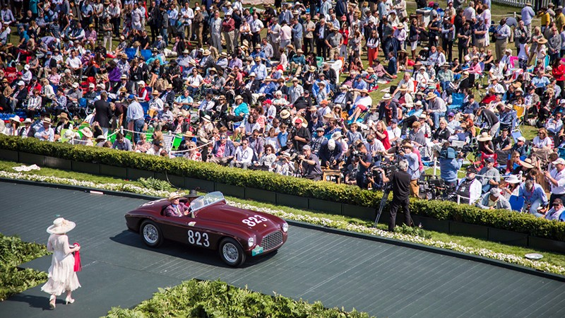Seventy Ferraris on show at Pebble Beach